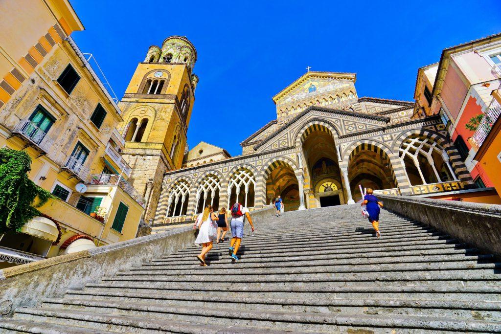 Duomo of Amalfi, staircase