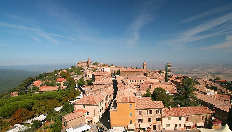 Montalcino, Tuscany: Home of Brunello