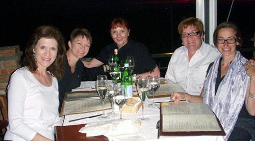 Rosemary Spitzer, Sheila Fetner, Valerie W. Edson, Addison Ore
