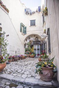 A Sassi Courtyard
