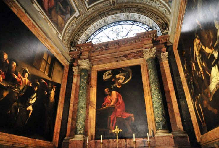 A Walking Tour of Caravaggio's Rome