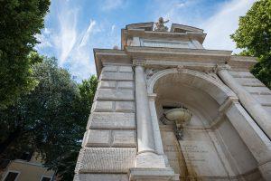 Piazza Trilussa Fountain